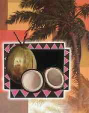 coconut tropical kitchen theme wall art LIGHT SWITCH PLATE home decor