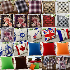 Home Decor Mixed Style Size Throw Pillow Case Square Pillowslip Cushion Cover