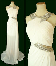 TERANI P1532 IVORY $450 Evening Cruise Wedding Dress NWT - Available Size 8, 10