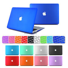"Crystal Rubberized Case Keyboard Cover FOR MacBook Pro 13"" 12 Retina Air 13.3 11"