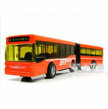 New Funny Alloy Section Back Double Articulated Best-selling Products Bus Toys