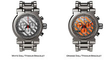 Oakley Hollow Point Watch Swiss Chronograph Titanium Bracelet Edition Variations