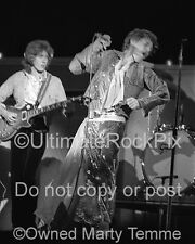 MICK TAYLOR PHOTO MICK JAGGER THE ROLLING STONES Photo in 1973 by Marty Temme