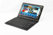 "Leather Cover Case Samsung Galaxy Tab 3 7"" with Wireless Bluetooth Keyboard 3200"