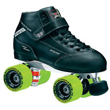 Roller Derby Skates - Stomp Factor 2 Plus Men Size 4-12 Militia Slim Wheels