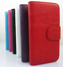 Leather Wallet Pouch Flip Case Cover Protector For APPLE New iPhone 5S iPhone 5