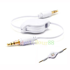 """CAR 3.5mm JACK AUX CABLE STEREO ADAPTER for PC Tablet TAB Ebook Reader 7"""" 7in"""