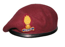 Royal Engineers Airborne Officers Beret + Cap Badge All Sizes ( Maroon 9 Para