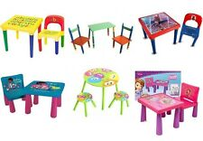 Childrens table and chair playsets Variety Kids Furniture Bedroom Play Room New