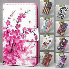 Leather Wallet Stand Magnetic Flip Case Cover For LG Optimus L7 2 II Dual P715
