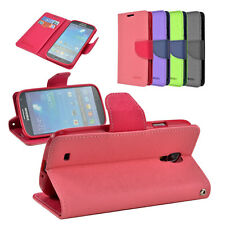 Flip Leather Wallet Card Pouch Stand Case Cover For Samsung Galaxy S4 IV i9500