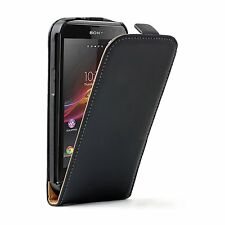 ULTRA SLIM Leather Flip Case Cover Pouch for Sony Xperia L C2104 / C2105 experia