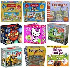 CHILDRENS TODDLER GIANT FLOOR JIGSAW PUZZLES CARRY CASE CREATIVE TOY XMAS GIFT