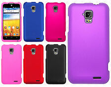 For AT&T GoPhone ZTE Z998 Rubberized HARD Case Snap On Phone Cover Accessory