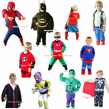 Halloween Superman Robin Batman Buzz Hero Party Boy Girl Drss Up Cosplay Costume