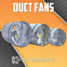 "4"" 6"" 8"" inch INLINE DUCT FAN EXHAUST BOOSTER BLOWER light hood room tent vent"