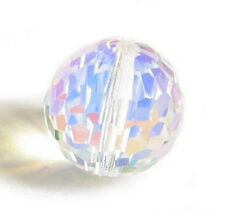 SWAROVSKI Elements Crystal 5003 Round Disco BEAD Clear AB U-Pick Size
