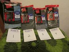 YOUR CHOICE: MEN'S HANES BOXER, UNDERWEAR SZ. M (34-36). 2 STYLES TO CHOOSE FROM