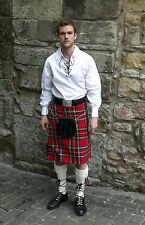 Great Gift: Complete Casual Scottish Party Kilt Package in Various Tartans