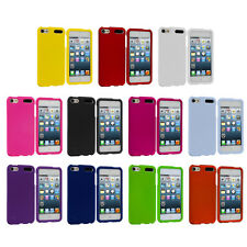 Color Snap-On Hard Rubberized Skin Case Cover for iPod Touch 5th Generation 5G 5