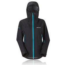 Montane Damen Direct Ascent eVent Schwarz Waterproof mit Kapuze  Outdoor Jacke