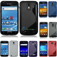 FOR SAMSUNG GALAXY S II 2 SKYROCKET 4G LTE T989 I727 EPIC 4G TOUCH GEL TPU CASE