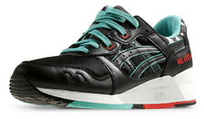 Asics Gel-Lyte III Black Turquoise Onitsuka Tiger H404L-9090 Sneaker Shoes Men