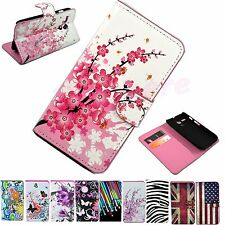 Wallet ID Card Mobile Phone Flip Leather Case Cover For Motorola Google Moto G