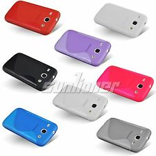 TPU GEL Silicone Case Skin for Samsung Galaxy Core,i8260,i8262 +Screen Protector