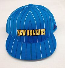 NBA New Orleans Hornets Adidas Fitted Cap Hat TMK13 NEW!