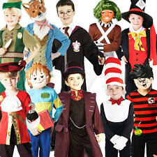 Boys Book Week Characters Fancy Dress Kids Child Costume Outfit Ages 3-10 Years