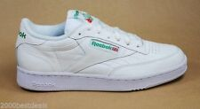 REEBOK CLUB C CLASSIC COMFORTABLE MEN SIZE TENNIS SHOES WHITE GREEN 6-892