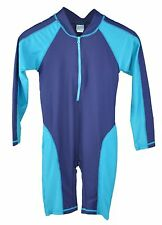 UV Protection Long Sleeve Swimsuit Children Swimwear One Piece