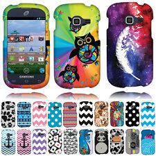 For Samsung Galaxy Discover S730G Centura S738C Aztec Snap On HARD Case Cover