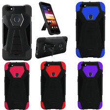 Kyocera Hydro C5170 Combo Holster HYBRID KICK STAND Rubber Case Cover