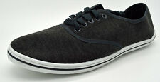 Slazenger Canvas Trainers Pumps CHARCOAL Shoes Size Adult 8 to 13 UK