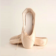 New Women's Girls Professional Satin Ballet Pointe Shoes Adult Kids