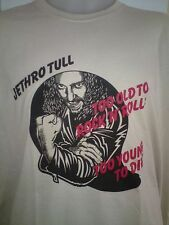 JETHRO TULL TOO OLD TO ROCK 'n' ROLL MENS ROCK MUSIC T SHIRT