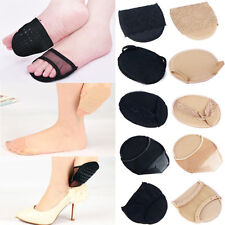 1 Pair High Heel Shoes Lace Pad Front Half Feet Cushion Insoles Inserts Support