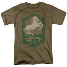 The Lord Of The Rings Trilogy The Prancing Pony Vintage Style Movie Adult Tee