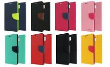 MERCURY SAMSUNG GALAXY HYBRID DIARY WALLET FLIP LEATHER CASE PHONE COVER + LCD
