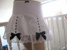 New White Black Purple Red Pink Lace Skirt Dita Showgirl Burlesque Lolita Party