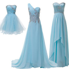 Multi Style Short Long Women Sequins Bridesmaid Evening Formal Party Prom Dress