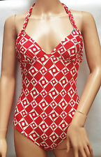 Princesse Tam Tam Amazone Swimsuit White/Red - size 8
