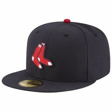 Boston Red Sox Official Authentic New Era 59Fifty OnField Alternate Fitted Hat