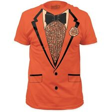 New Retro High School Prom Suit Tuxedo Jacket Costume Outfit Mens T-Shirt Top