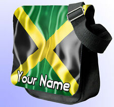 PERSONALISED JAMAICAN FLAG SHOULDER / HAND BAG *Choice of colour's* GREAT GIFT !