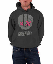 Green Day American Idiot Grey Skull Official Mens New Pullover Hoodie
