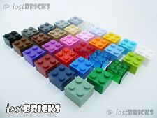 10 x LEGO Bricks 2x2 (Part 3003) + SELECT COLOUR ++ FREE POSTAGE