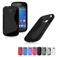 S-Line Case Cover Gel For Samsung Galaxy Fresh Lite Trend Duos GT S7390 S7392